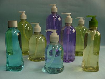 Envases de plastico para gel antibacterial